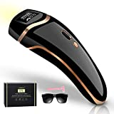 Fasbruy IPL Hair Removal Permanent Painless Laser Hair Remover Device for Women and Man Upgrade to 999,999 Flashes for Facial Legs, Arms, Armpits, Body, At-Home Use (Black)