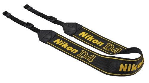 Nikon ネックストラップ D4付属 一眼レフ用 シンプル ブラック AN-DC7