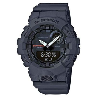Men's Casio G-Shock Analog-Digital Urban Trainer Charcoal Watch GBA800-8A