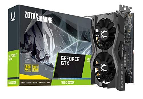 ZOTAC GeForce GTX 1650 Super Twin Fan 4GB GDDR6 128-bit Super Compact Gaming Graphics Card (ZT-T16510F-10L)
