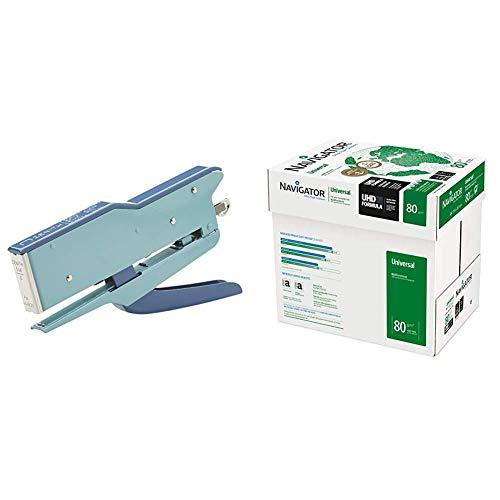 ZENITH 548/E Cucitrice a Pinza Celeste/Blu & Navigator Universal Carta Premium per ufficio, Formato...