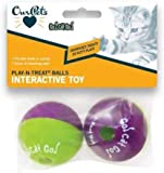 Go Cat Go! Play-N-Treat Twin Pack Cat Toy [Set of 3]