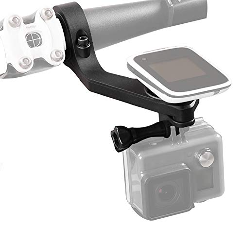 Andoer Bike Mount Holder Handle Bar Computer Mount Kit Out-front Mount Bike Kit di 25,4 mm/31,8 mm per Polar M450 GPS V650 Bike Computer per GoPro Sony Garmin virB X e XE per SJ Cam Action Cameras