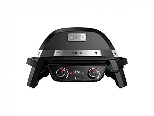 Weber Pulse 2000 - Barbecue Elettrici, Nero, 2.2 kW