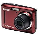 Kodak PIXPRO Friendly Zoom FZ43-RD 16MP Digital Camera with 4X Optical Zoom and 2.7' LCD Screen (Red)