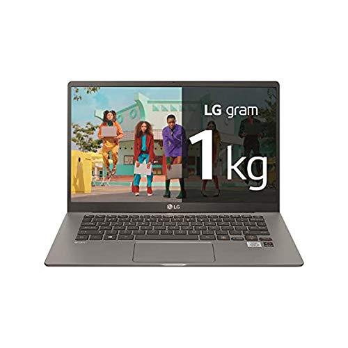 "LG - Portátil gram 14Z90P Windows 10 Home, Ultraligero de 30.2 cm (14"") WUXGA 16:10 IPS (1 Kg, autonomía 18.5 h. Intel EvoTM i5 11ª Gen., Iris Xe, 16GB RAM, 512GB SSD NVMe), Teclado Español, Negro"