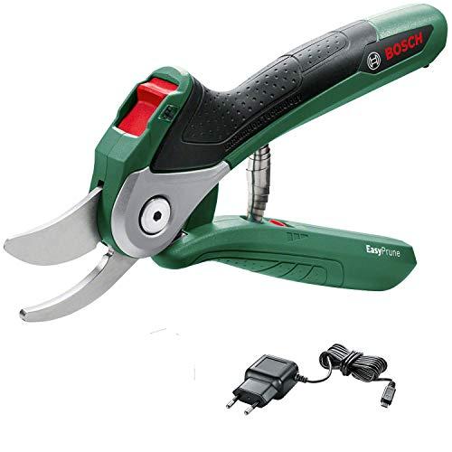 Bosch 06008B2000 EasyPrune - Cesoie potatura, Batteria Integrata, 450 Tagli per Carica, Confezione...