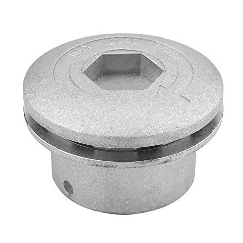 Set di testine per decespugliatore universale in alluminio, Alluminio testa decespugliatore, testina falciante in alluminio, testa con 4 fili, per taglia-erba/decespugliatore a benzina