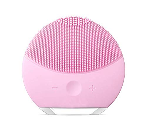 Ameriwal Forever Lina Mini 2 Anti-Aging Portable Facial Cleansing Brush Gentle Exfoliation and Sonic Cleansing for All Skin Types