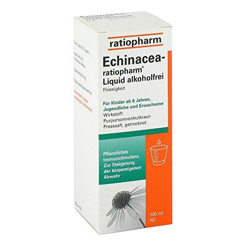 ECHINACEA-RATIOPHARM Liquid alkoholfrei 100 ml Lösung 100 ml Lösung