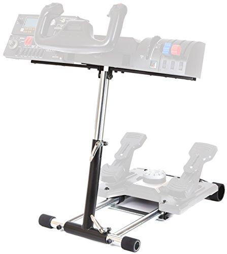 Wheel Stand Pro S Compatible with Saitek Logitech Pro Flight/Cessna Yoke System;Yoke Support; Wheel Stand Only Flight System Not Included.