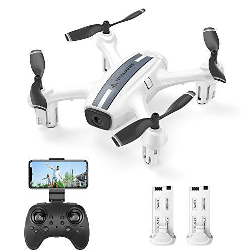 SNAPTAIN SP360 720P Drone con Telecamera HD WiFi FPV, Controllo Vocale e Gestuale, Sensore G,...