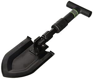 Schrade SCHSH1 16.6in Stainless Steel Telescoping Survival Shovel