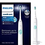 Philips Sonicare HX6817/01 ProtectiveClean 4100 Rechargeable Electric Toothbrush, White (Packaging...