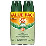 OFF! Deep Woods Bug Spray & Mosquito Repellent, DryTouch Technology, Long Lasting Protection 4 oz. (Pack of 2)