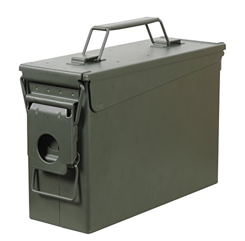 Fortress 30 Caliber Metal Ammo Can, 30...