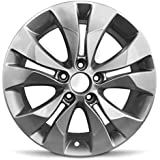 Road Ready Car Wheel For 2012-2014 Honda CR-V 17 Inch 5 Lug Gray Steel Rim Fits R17 Tire - Exact OEM Replacement - Full-Size Spare
