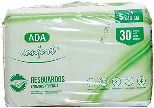 Pack 30 unidades de Empapadores desechable con gran capacidad de absorción 60 x 40 cm, Suapel para camas de adulto y niños