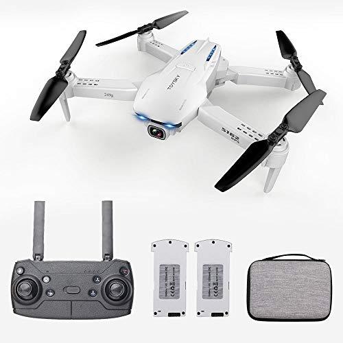 Goolsky Drone S162 RC con Telecamera GPS Regolabile grandangolare 1080P WiFi Gesto Foto Video MV FPV RC Quadcopter...