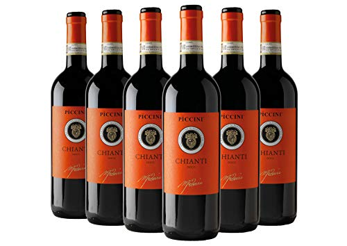 Chianti DOCG Orange box 6 bottiglie Tenute Piccini 2019 6 bottiglie da 0,75 L