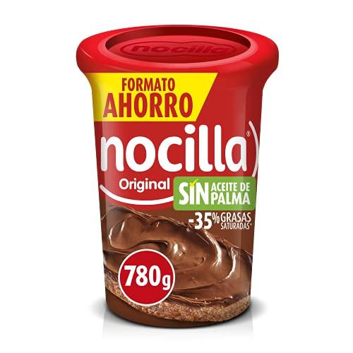 Nocilla Original Crema de Cacao, Sin Aceite de Palma, 780g