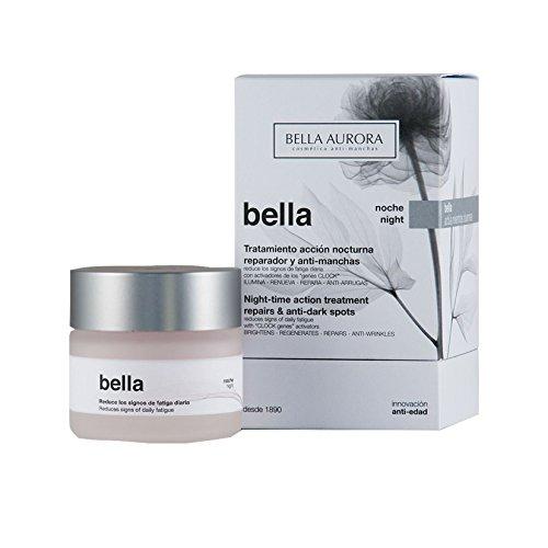 Bella Aurora Crema de Noche Anti-Arrugas Mujer 35+ Años, 50