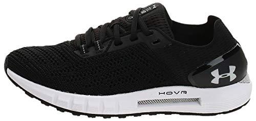 Under Armour Women's HOVR Sonic 2 Running Shoes, Black (Black/White/White (003) 003), 6.5 (40.5 EU)