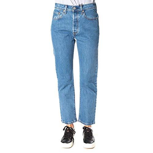 Levi's Womens 501 Crop Jeans, Tango Beats, W31/L28