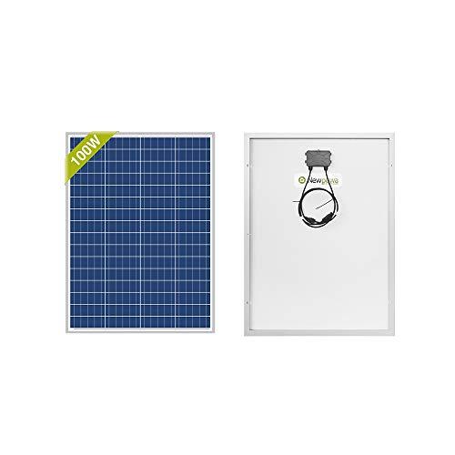 Newpowa 100 Watts 12 Volts Polycrystalline Solar Panel 100W 12V...