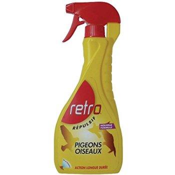 Retro REPI3 Liquide RÉPULSIF Pigeons – Oiseaux, Rouge,Jaune