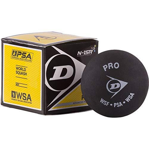 Dunlop D1SB700108 Squash Ball, Black