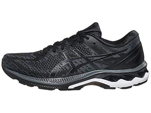 ASICS Men's Gel-Kayano 27 MK Running Shoes, 9.5M, Black/Carrier Grey