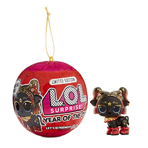 Image 1 - MGA Entertainment UK Ltd LOL Surprise Year of The Ox Doll Or Pet with 7 Surprises, Lunar New Year Doll Or Pet, Accessories, Surprise Doll Or Pet