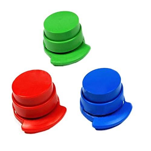 Agger Cucitrice di Carta Binding Clip segnalibro Posizionamento Binder per L'Ufficio/Scuola/casa...