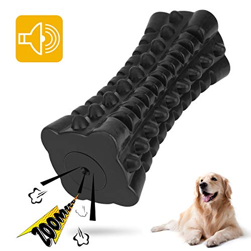 VANFINE Dog Squeaky Toys Almost indestructible Tough durable dog toys dog chew toys for large dogs aggressive chewers squeaky toys for dogs Stick Squeaker Puppy Chew Toys with Non-Toxic Natural Rubber