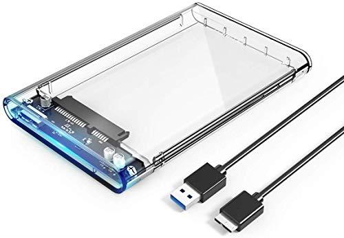 Orico Case Esterno per Disco Rigido 2.5 USB 3.0 5Gbps Case Hard Disk per 7mm e 9.5mm SATA I II III...