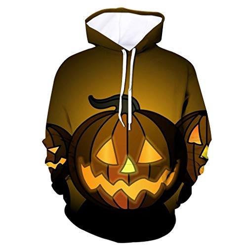 Jan STORE Mens Realistic 3D Graphic Hoodies Pullover Cool Hooded Sweatshirts Sweat Jacket with Big Pockets S-6XL