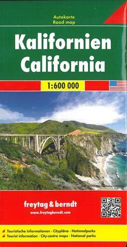 California, mapa de carreteras. Escala 1:600.000. Freytag & Berndt.: Wegenkaart 1:500 000 (Auto kart