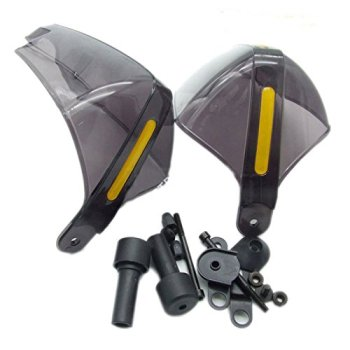 "Par Gris Universal 22mm 7/8"" Paramanos Guardamanos Handguards para Moto/Motocicleta/ATV"