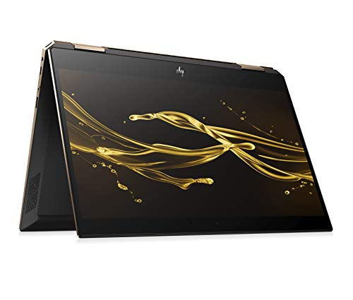 HP Spectre x360 13-ap0101ng (13,3 Zoll / FHD IPS Touch) Convertible Laptop (Intel Core i5-8265u, 256GB SSD, 8GB RAM, Intel UHD Graphics 620, Win 10 Home) Dark Ash Silber