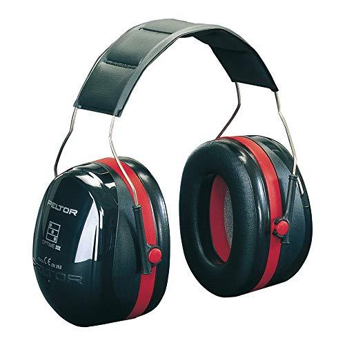 3M Peltor Optime III - Casque antibruit en serre-tête pliable - Pour milieu bruyant et stressant - Atténuation 35 dB - 1 x casque antibruit...