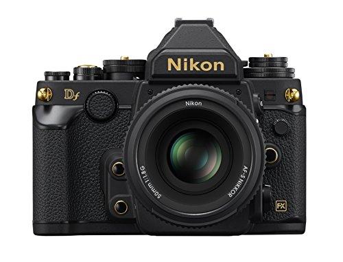 Nikon デジタル一眼レフカメラ Df 50mm f/1.8G Special Gold Editionキット ブラック DFLKBKGE