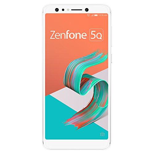 ASUS ZenFone 5Q 【日本正規代理店品】 6.0インチ / SIMフリースマートフォン / ムーンライトホワイト (4GB...
