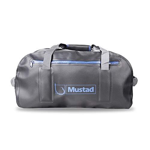 Mustad Dry Duffle Bag 50L, Water-Resistant 500-Denier Tarpaulin, Zippered Main Compartment,...