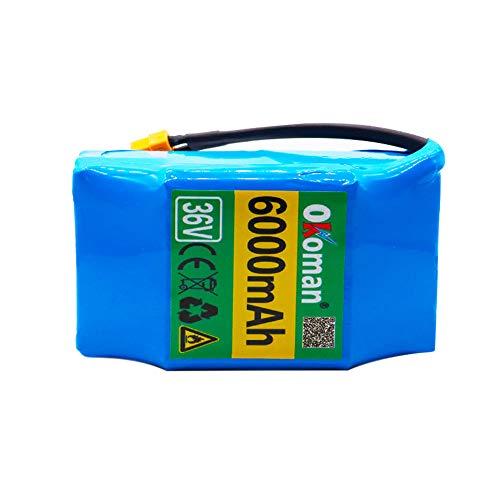 Batteria Hoverboard 36V 6000mah ad Alto consumo energetico Scooter Elettrico a 2 Ruote...