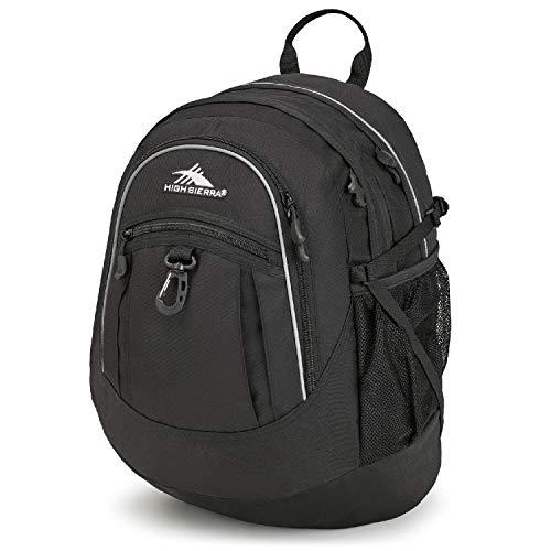High Sierra Fatboy Backpack, Black