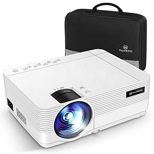 VANKYO Proiettore 720P 5500 Lumen, Videoproiettore Display da 250 HiFi Speaker, 2 Porte HDMI, con...