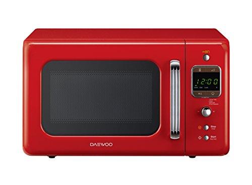 Daewoo KOR-6LBR Digitale Mikrowelle rot