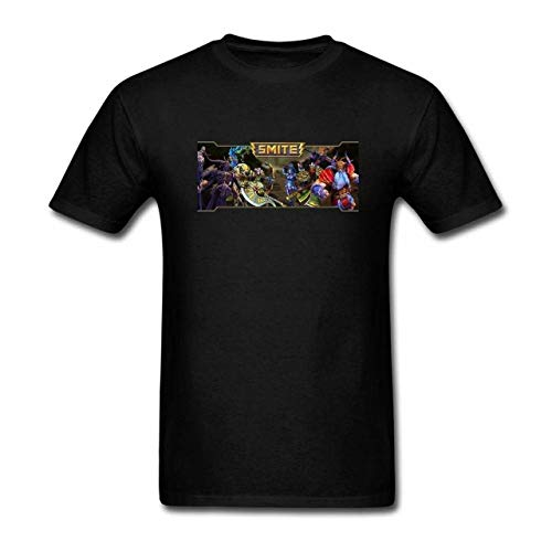 SEERTLIOPT Men's Tshirts Smite Game logoSimple Wild Short Sleeve M