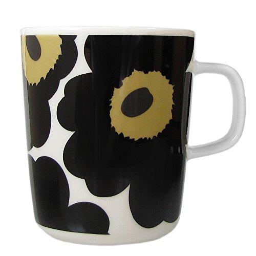 マリメッコ marimekko ウニッコ UNIKKO マグカップ ホワイト×ブラック 250ml 63431 030 63431 030 [並行輸...